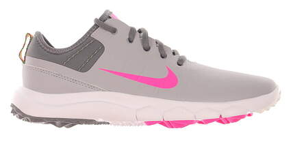 New Womens Golf Shoe Nike FI Impact 2 9 Wolf Grey/Pink Blast MSRP $140