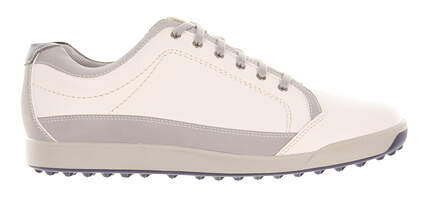 New Mens Golf Shoe Footjoy Contour Casual Medium 9 White MSRP $140
