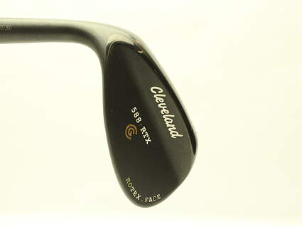 Cleveland 588 RTX Black Pearl Wedge Sand SW 56* 14 Deg Bounce True Temper Dynamic Gold Steel Wedge Flex Left Handed 35.5 in