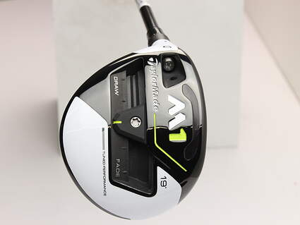 Mint TaylorMade M1 Fairway Wood 5 Wood 5W 19* MRC Kuro Kage Silver TiNi 70 Graphite Regular Left Handed 42.25 in