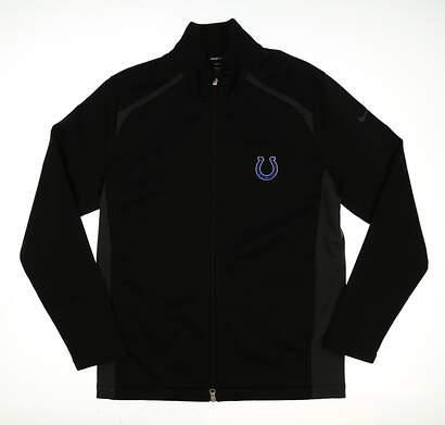 New W/ Logo Mens Nike Golf Wind Jacket Medium M Black MSRP $130