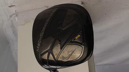 Nike SQ Machspeed Black Square Driver 10.5* Proforce Axivcore Tour Black Graphite Stiff Left Handed 45.75 in