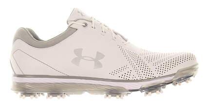 New Mens Golf Shoe Under Armour UA Tempo Tour 8.5 White MSRP $220