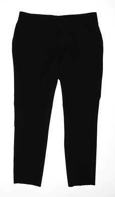 New Womens Peter Millar Golf Pants Size 8 Black MSRP $98