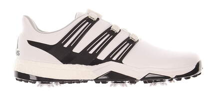 New Mens Golf Shoe Adidas Powerband Boa Boost Medium 11.5 White/Black MSRP $180