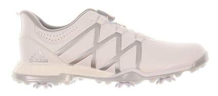 New Womens Golf Shoe Adidas Adipower Boost BOA Medium 8 White/Grey MSRP $180