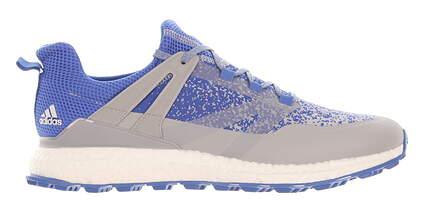 New Mens Golf Shoe Adidas Crossknit Boost Medium 9 Blue MSRP $160