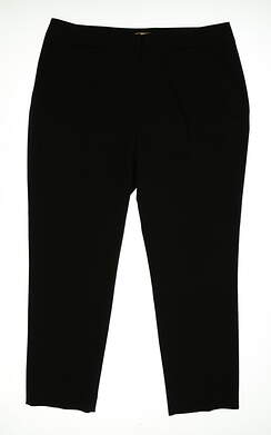 New Womens Sport Haley Maria Ankle Pants Size 16 Black MSRP $92