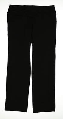 New Womens Sport Haley Pull On Yoga Pants Size Large L Black MSRP $84