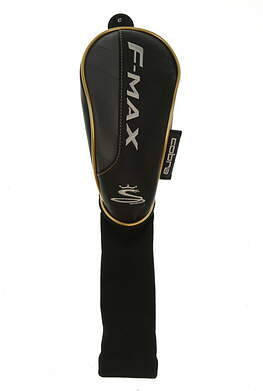 Cobra F-Max Fairway Wood Headcover Gold/Black