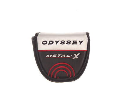 Odyssey Metal X 2-Ball Mallet Putter Headcover Silver/Black/Red