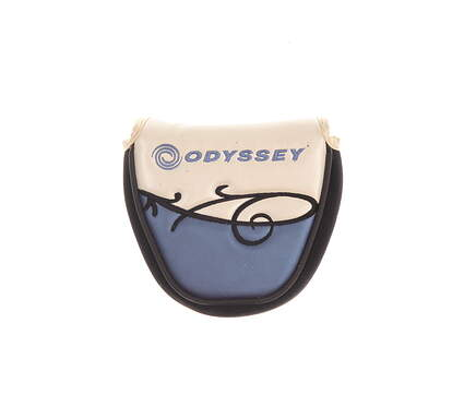 Odyssey Ladies Divine 2-Ball Mallet Putter Headcover White/Blue/Black