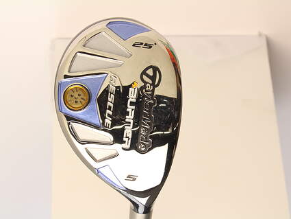 Mint TaylorMade Burner Rescue Hybrid 5 Hybrid 25* TM Reax Superfast 50 Graphite Ladies Right Handed 38.5 in