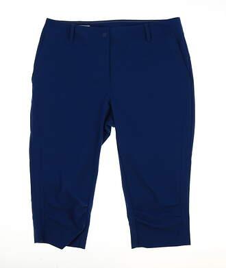New Womens Cutter & Buck Annika Golf Capris Size 8 Blue MSRP $99
