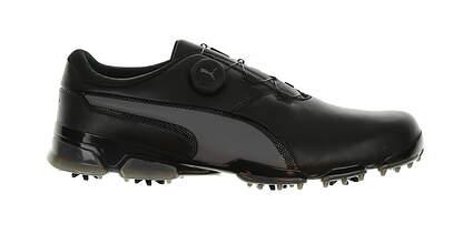 New Mens Golf Shoe Puma TITANTOUR IGNITE DISC Medium 12 Black MSRP $160