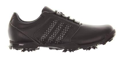 New Womens Golf Shoe Adidas Adipure Tour Medium 9.5 Black MSRP $130