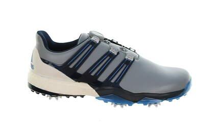 New Mens Golf Shoe Adidas Powerband Boa Boost Medium 9.5 Gray MSRP $180