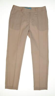 New Womens Lizzie Driver Golf Pants Size 10 Tan MSRP $118