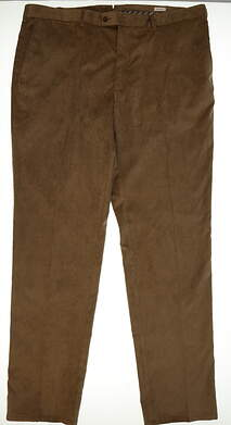New Mens Peter Millar Golf Pants Size 42 Brown MSRP $145