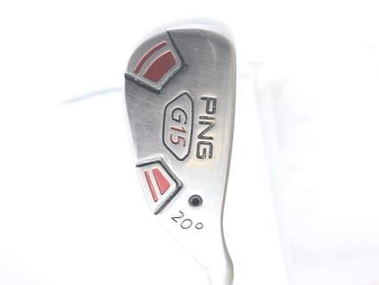 Ping G15 Hybrid 3 Hybrid 20* Aldila Serrano 85 Hybrid Graphite Stiff Right Handed 39.5 in