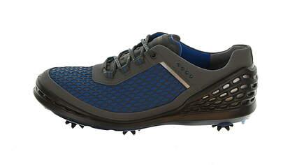New Mens Golf Shoe Ecco Cage Evo 43 (9/9.5) Bermuda Blue/Ombre MSRP $190