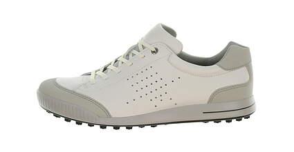 New Mens Golf Shoe Ecco Street Retro 42 (8/8.5) White MSRP $140