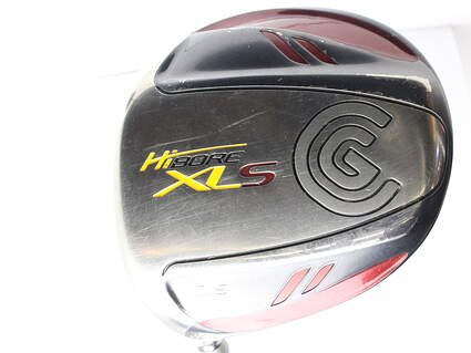 Cleveland Hibore XLS Driver 10.5* Cleveland Fujikura Fit-On Gold Graphite Stiff Left Handed 45.25 in