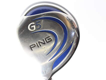 Ping G5 Fairway Wood 3 Wood 3W 15* Ping TFC 100F Graphite Stiff Left Handed 42.75 in