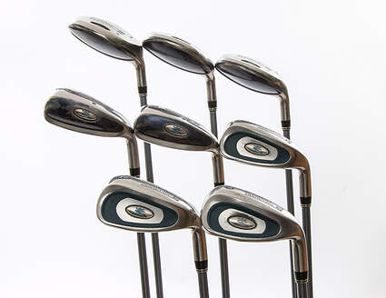 Cobra Transition S Ladies Iron Set 3H 4H 5H 6-PW Stock Graphite Shaft Graphite Ladies Right Handed 38 in