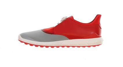 New Mens Golf Shoe Puma IGNITE Spikeless Sport DISC Medium 11 Quarry/High Risk Red MSRP $120