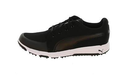 New Mens Golf Shoe Puma Grip Sport Medium 10 Puma Black MSRP $80