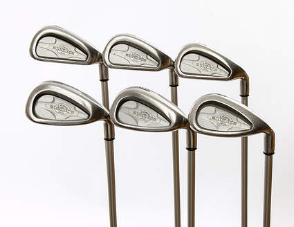 Callaway X-14 Iron Set 5-PW Callaway Gems Graphite Ladies Right Handed 37 in