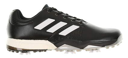 New Mens Golf Shoe Adidas Adipower Boost 3 Medium 11.5 Black/White MSRP $120