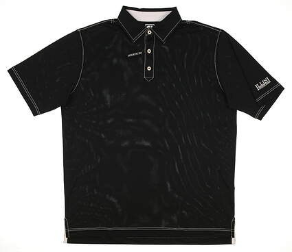 New W/ Logo Mens Footjoy Golf Polo X-Large XL Black MSRP $68