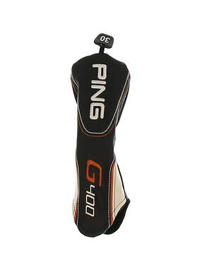 Ping 2017 G400 30 Degree 6 Hybrid Headcover Black/White/Orange