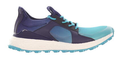 New Womens Golf Shoe Adidas Climacross Boost Spikeless Medium 6 Blue MSRP $130