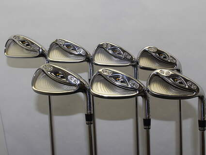 TaylorMade R7 CGB Iron Set 4-PW Stock Steel Shaft Steel Stiff Right Handed 38 in