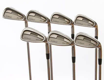 Titleist 804.OS Iron Set 4-PW Nippon NS Pro 970 Steel Stiff Right Handed 38.5 in