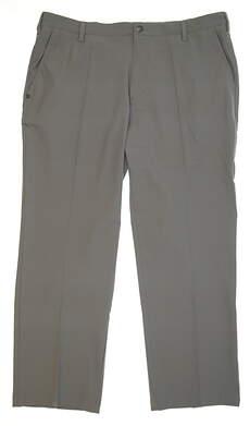 New Mens Adidas Ultimate Regular Fit Golf Pants 40x30 Vista Grey MSRP $80 BC3850