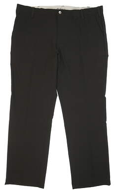 New Mens Adidas Ultimate Regular Fit Golf Pants 40x32 Black MSRP $80 AF1740