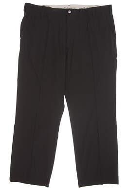 New Mens Adidas Ultimate Regular Fit Golf Pants 40x30 Black MSRP $80 AF1710