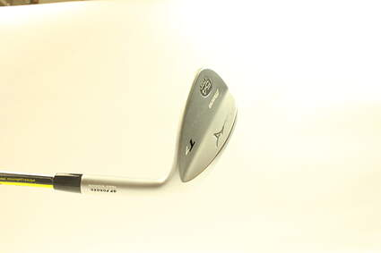 Mint Mizuno T7 White Satin Wedge Sand SW 54* 8 Deg Bounce True Temper Dynamic Gold Steel Wedge Flex Right Handed 35.5 in