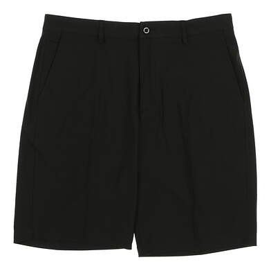 New Mens Dunning Players Fit Solid 4-Way Stretch Woven Shorts Size 33 Black MSRP $80 D7S13H055
