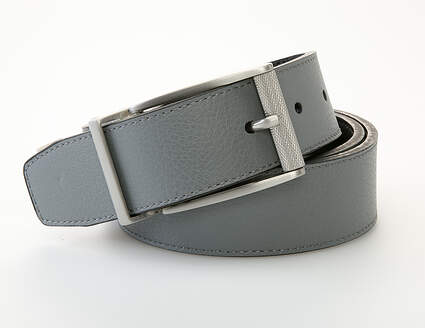 New Mens Nike Golf Classic Reversible Belt Mens 32 Leather Black/Gray MSRP $45 11082113