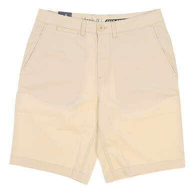 New Mens Johnnie-O Mulligan PREP-FORMANCE Shorts Size 30 Ecru (Stone) MSRP $85 JMSH1070
