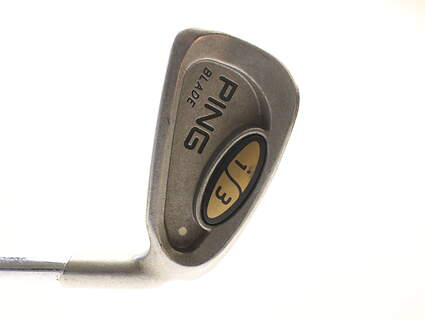 Ping i3 Blade Single Iron 3 Iron Ping JZ with Cushin Steel Stiff Right Handed 39.25 in
