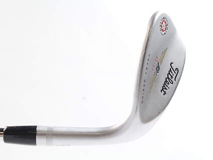 Titleist 2009 Vokey Spin Milled Chrome Wedge Lob LW 60* 7 Deg Bounce Nippon NS Pro 970 Steel Ladies Right Handed 34 in