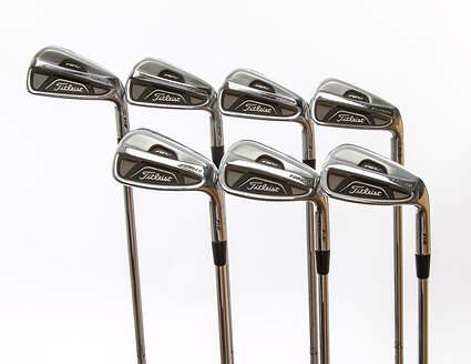 Titleist 712 AP2 Iron Set 4-PW True Temper Dynamic Gold S300 Steel Stiff Right Handed 38 in