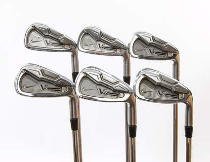 Nike Victory Red S Forged Iron Set 5-PW Nippon NS Pro 950GH Steel Stiff Right Handed 37.75 in