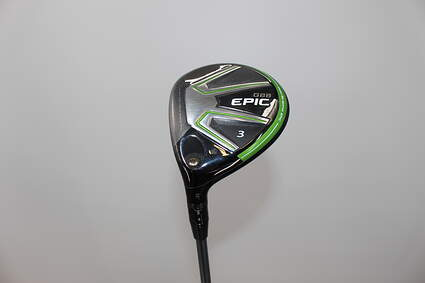 Callaway GBB Epic Fairway Wood 3 Wood 3W 15* Project X HZRDUS T800 Green 65 Graphite Stiff Left Handed 43 in